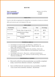 Resume Titles Examples by Resume Title Examples Resume For Your Job Application