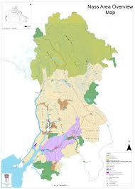 Cambria Map Maps Nisga U0027a Lisims Government