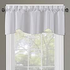window scarves window valances bed bath u0026 beyond