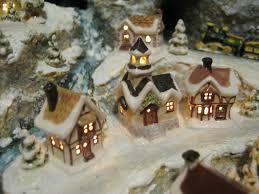 mini lights for christmas village sylvia mobley at pinerose studio miniature christmas village