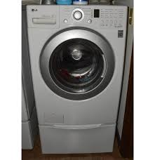 Pedestal Washing Machine Lg Inverter Direct Drive Front Load Washer With Drawer Pedestal Ebth