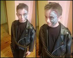Terminator 2 Halloween Costume 32 Terminator Images Terminator Makeup