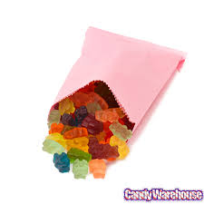 candy bags pink gourmet candy bags 100 pack candywarehouse