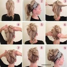 coiffure pour mariage cheveux mi 30 tutoriels faciles pour bien coiffer vos cheveux mi longs