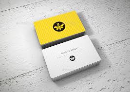 Round Business Card Rounded Corners Business Card Mock Up Stack By Mock Up Militia