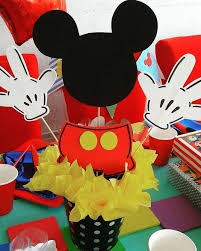Mickey Mouse Party Theme Decorations - best 25 mickey centerpiece ideas on pinterest mickey mouse
