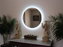 amazon com lighted vanity mirror wall mounted led round 36
