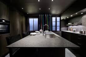 ilot central cuisine contemporaine cuisine moderne et design 4 cuisine en kit avec ilot central