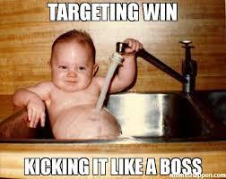 Win Kid Meme - targeting win kicking it like a boss meme epicurist kid 37670