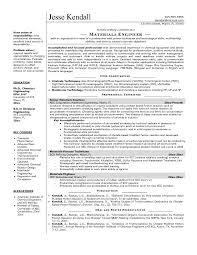resume exles for engineers engineering intern cv exles cool electrical engineering