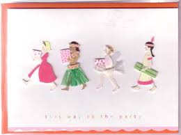 meri meri greeting card embellished birthday handmade