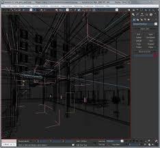 Business Interiors Group Corridor Business Interior Scene Render Ready 3d Model Max Obj 3ds