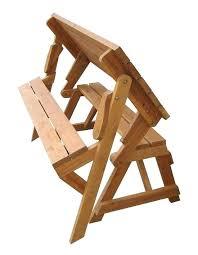 fold out picnic table convertible garden bench to picnic table exhort me