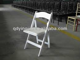 Used Folding Chairs For Sale Used In Outdoor Wedding Garden Resin White Foldable Chair Buy