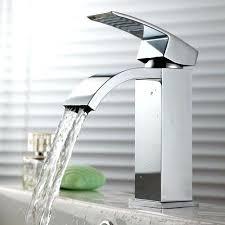bathroom faucet sink single hole waterfall faucet bathroom sink