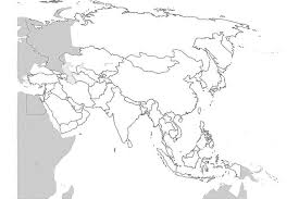 map of aisa 17 blank maps of the u s and other countries