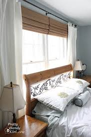 Where To Put Curtain Rods Hanging Curtains And No Iron Solution To Wrinkles Pretty Handy