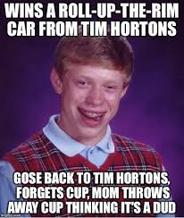 Roll Up Meme - bad luck brian meme imgflip