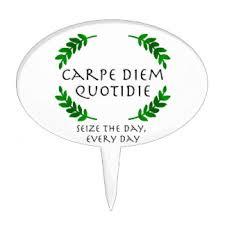 carpe diem kitchen accessories supplies zazzle
