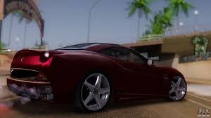 Ferrari California Hatchback - ferrari california v2 0 for gta san andreas