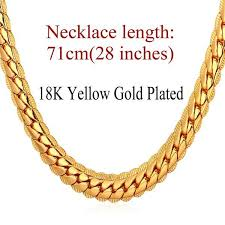 new arrival fashion style gold plated alloy snake shape 18k real gold or platinum plated 6 mm wide snake chain necklace 3