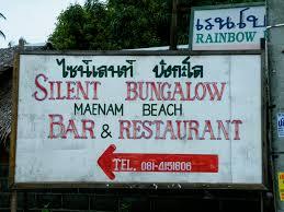 silent beach bungalow koh samui thailand canadian john boy