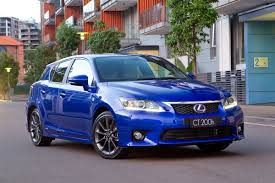 lexus ct200h lexus ct 200h australian sales start