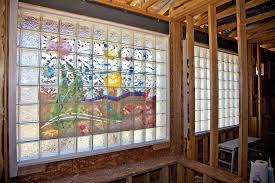 glass block designs for bathrooms universal design bathroom kitchen remodeling decorative glass