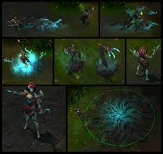 Lol Halloween Icons Haunted Zyra Preview For The League Of Legends Harrowing Show Us