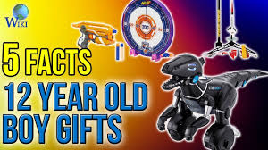 12 year boy gifts 5 fast facts