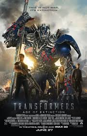 optimus prime and mark wahlberg compare swords in new transformers