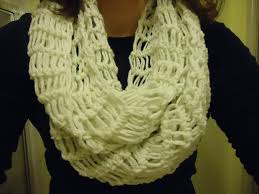 broomstick lace infinity scarf faux broomstick lace infinity scarf crochet adventures