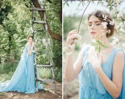 light blue wedding dresses blue wedding dress etsy