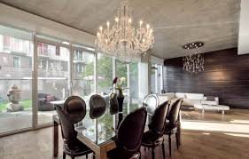 contemporary dining room chandilier crystal candi lier modern