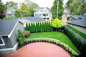 Landscaping Ideas For Backyard Privacy Small Backyard Privacy Solutions Stylish Small Backyard Ideas