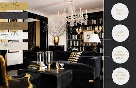 Black White And Gold Living Room by Black And Gold Bedroom Decor Ideas Also Pictures Furniture Classic