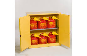 Yellow Flammable Storage Cabinet Eagle Flammable Liquid Safety Storage Cabinet Combo 30 Gal