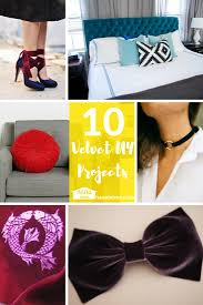 Home Decor Diy Projects by 10 Velvet Diy Projects For The Plush At Heart Nanu Home Decor