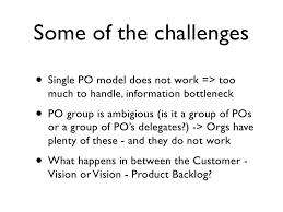 Challenge How Does It Work Provocation To The Product Owner Challenge Agile Coaching Circle