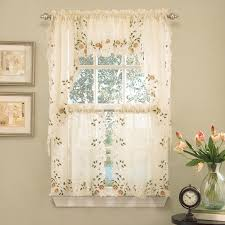 Butterfly Kitchen Curtains Kitchen Lace Curtains In Kitchen Flatware Featured Categories
