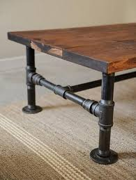 Diy Reclaimed Wood Side Table by Best 25 Metal Pipe Ideas On Pinterest Plumbing Pipe Furniture