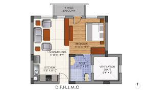 Floor Plan Studio Type Mounthill Realty Essence Kolkata Discuss Rate Review Comment