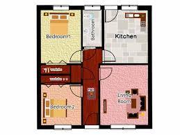 pictures two bedroom bungalow floor plans best image libraries