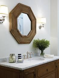 Bathroom Sconces Restoration Hardware Octagonal Mirror Traditional Bathroom Para Paints Snow Pixie