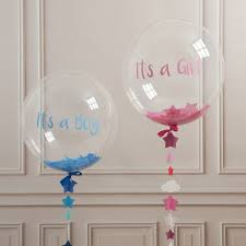 gender reveal balloons gender reveal balloon balloons by danny