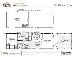 Park Model Floor Plans by Park Model Home Plans