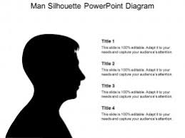 free silhouette images free silhouette man powerpoint template powerpoint slide images