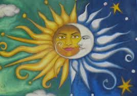 sun n moon pastel by suja mithun