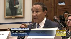 United Airlines Checked Baggage Fee by United Airlines Ceo Apologizes Breach Trust C Span Org