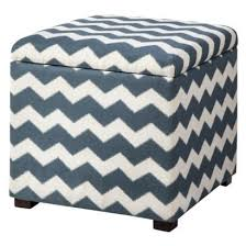 endearing square ottoman with storage threshold single square